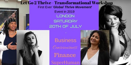 Let Go 2 Thrive tickets