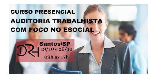AUDITORIA TRABALHISTA COM FOCO NO ESOCIAL
