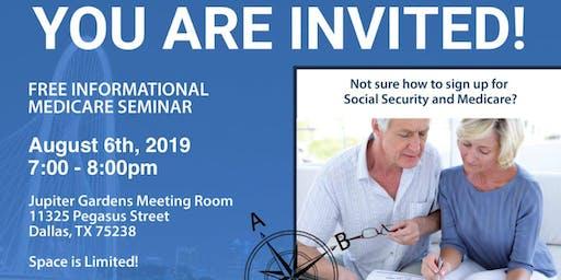Free Informational Medicare Seminar