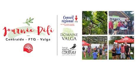Journée Défi Centraide - FTQ- Domaine Valga billets