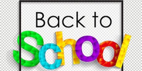 Back to School Pop Up Boutique by Gran Cee Handbags  tickets