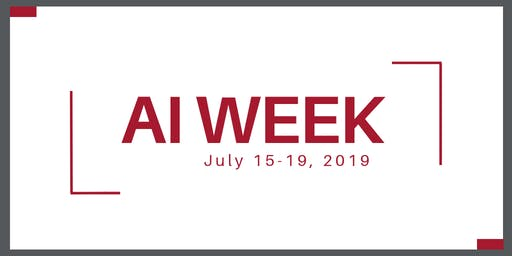 AI Week: Public lecture series on Artificial Intelligence