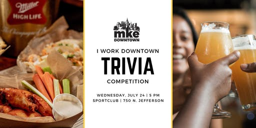 I Work Downtown Trivia Competition 2019