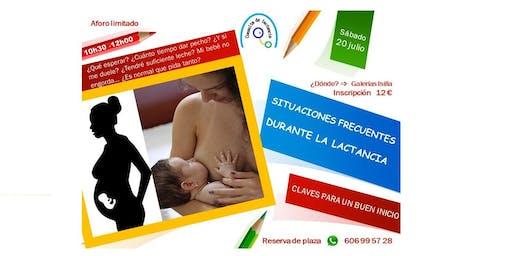 Charla-Situaciones frecuentes en la lactancia materna