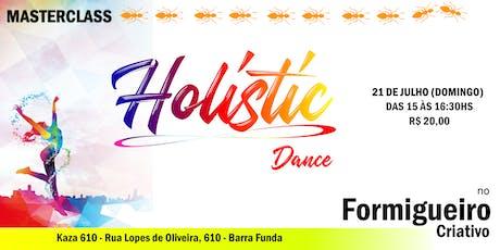 MASTERCLASS de HOLISTIC DANCE ingressos