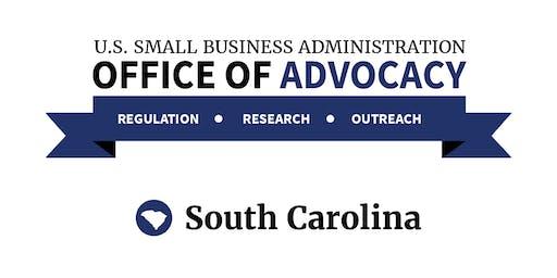 SBA Office of Advocacy - Regional Regulatory Roundtable - Columbia, SC