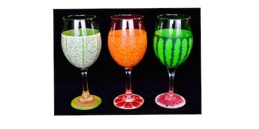 "Adult Open Paint (18yrs+) ""Taste of Summer Glasses"""