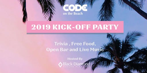 Code on the Beach Kick-Off Party hosted by Black Diamond