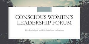 Conscious Women's Leadership Forum