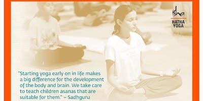 Isha Hatha Yoga for Children in Phoenixville, PA