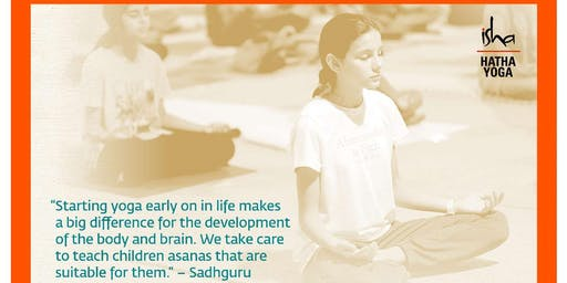 Isha Hatha Yoga for Children in Phoenixville, PA