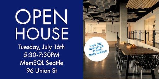 MemSQL Seattle Open House