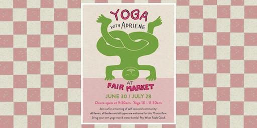 Yoga with Adriene at Fair Market