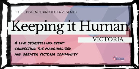 Keeping It Human - Victoria tickets