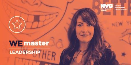 WE Master Leadership Courses (3 day workshop: 8/21, 8/28, 9/4) biglietti