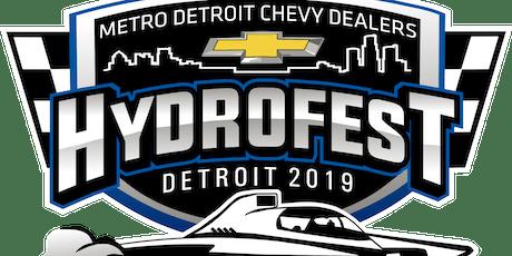 2019 Metro Detroit Chevy Dealers Hydrofest tickets