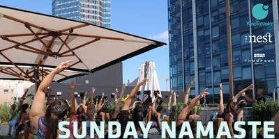 Sunday Namaste: Kind Traveler Rooftop Yoga | The Nest | Thompson Seattle