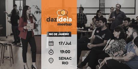 Dazideia Meetup Rio de Janeiro ingressos