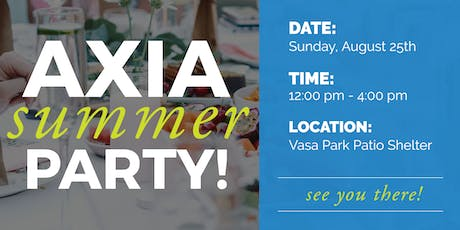 Axia Summer Party tickets