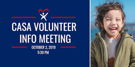 Court Appointed Special Advocates (CASA) Volunteer Info Meeting tickets