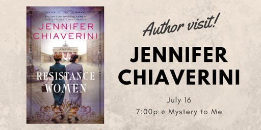 Author Visit: Jennifer Chiaverini