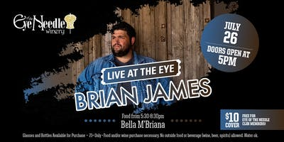 LIVE at the Eye:   Brian James