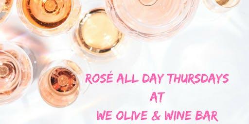 Thursdays - All Day Rosé