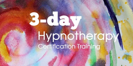 3 day Hypnosis Certification course tickets