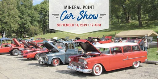 2019 Mineral Point Car Show Registration
