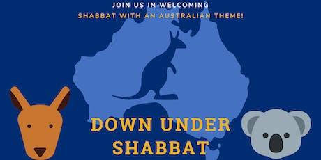 Down Under Shabbat tickets