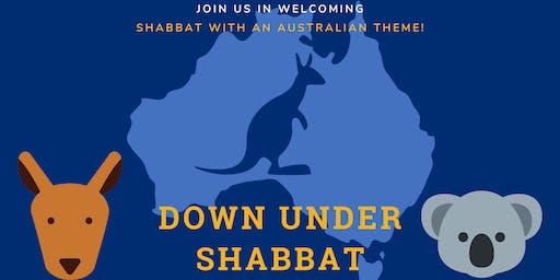 Down Under Shabbat