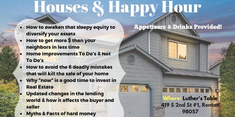 Houses & Happy Hour tickets