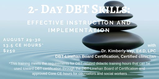 2-Day DBT Skills: Effective Instruction and Implementation
