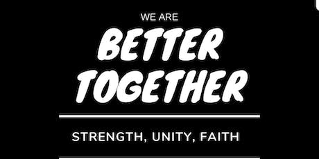 Better Together Community Outreach tickets