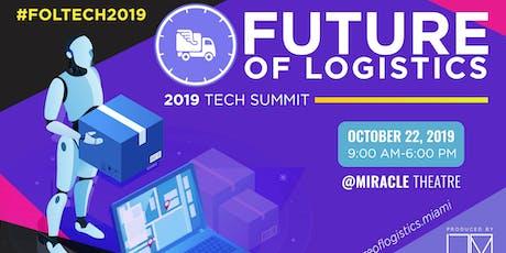 Future of Logistics Tech Summit 2019 tickets