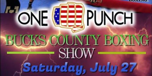 Bucks County Boxing Show
