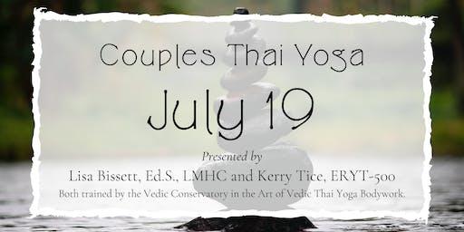 Couples Thai Massage Workshop July 19th