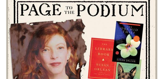 Page to the Podium: Susan Orlean