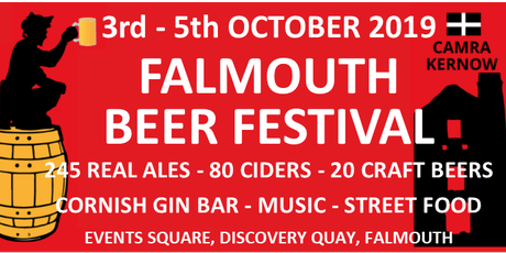 CAMRA Kernow -  Falmouth Beer Festival 2019 tickets