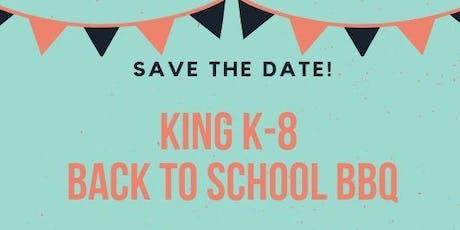 King K-8 Back to School BBQ tickets