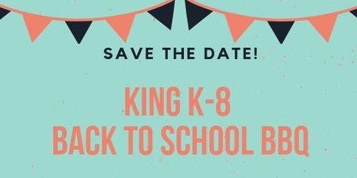 King K-8 Back to School BBQ