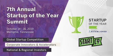 7th Annual Startup of the Year Global Competition & Summit tickets