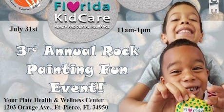 3rd Annual Rock Painting Fun Event  tickets