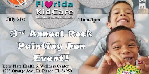 3rd Annual Rock Painting Fun Event
