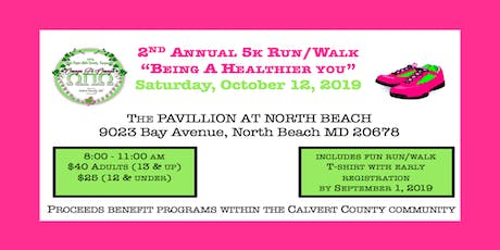 "2nd Annual 5K Run/Walk:  ""Being a Healthier You"" tickets"