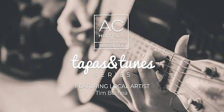 Tapas & Tunes featuring Tim Bethea tickets