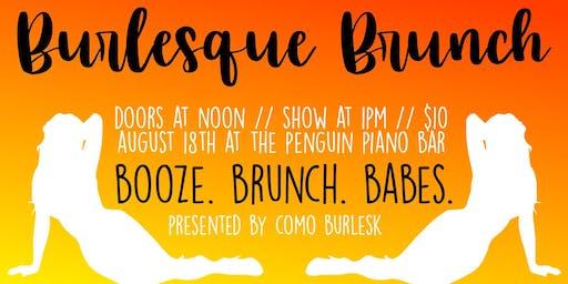 CoMO Burlesk presents Burlesque Brunch