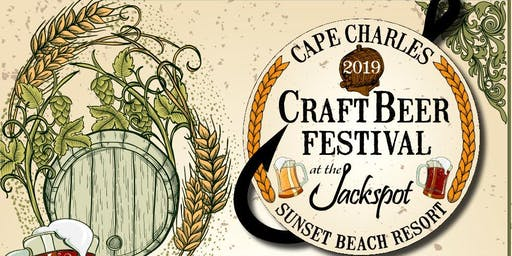 Cape Charles Craft Beer Festival at the Jackspot