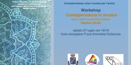 Workshop: Consapevolezze in musica tickets