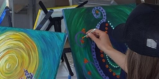 Brushes and Bubbles with Artist Linda Wilds-Beltz